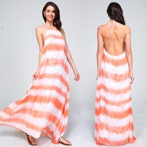 090f1dd3fba25 SHANIE Tie Dye Maxi Dress